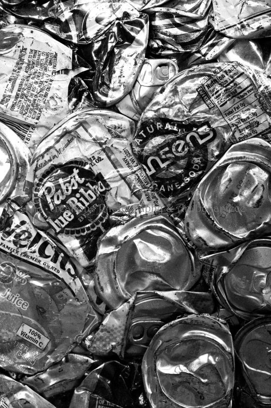 Trash Art Recycling, Pabst Blue Ribbon, PBR